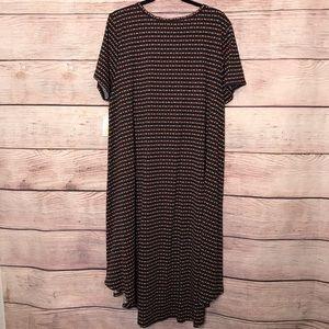 LuLaRoe Dresses - 3XL Lularoe Carly Dress